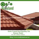 Плитка крыши листа металла при покрынный камень (римский тип)