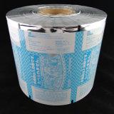 Caramelo de las palomitas que empaqueta la película de rodillo plástica del bolso del alimento