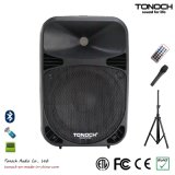 10 populares Inches Plastic Powered Speaker com Excellent Performance