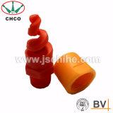 Surtidor espiral del inyector de aerosol de PVDF