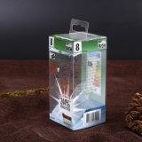 OEM che marca a caldo il contenitore di PVC per la lampadina del LED (casella dei pp)