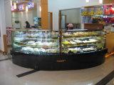 Подгонянный содружественный холодильник индикации торта высокого качества