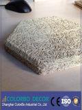 Feuille de la colle de fibre de panneau isolant de copeaux de bois