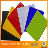 Colorear la hoja de acrílico del plástico PMMA/la hoja del plexiglás del plexiglás de acrílico