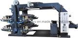 Tela não tecida Zxh-C41200 da máquina de impressão da tipografia de quatro cores