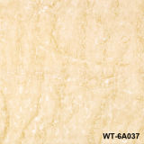 Mattonelle della parete lustrate salone giallo di colore 600*600