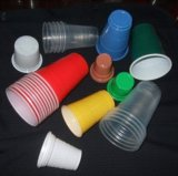Ökonomischer Typ Plastikkasten-Cup Thermoforming Maschine