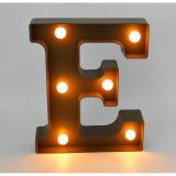 Упование Plastic Letter с СИД для Home Decoration