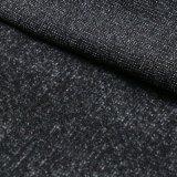 Schwarzes Polyesterdickflüssiges Spandex-Baumwollgewebe für Hose