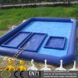 zwembad van het Vermaak van pvc van 0.6~0.9mm het Opblaasbare Vierkante