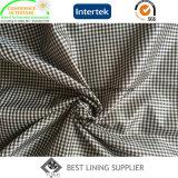 Piccolo fornitore classico del tessuto del rivestimento del cappotto del rivestimento del vestito del reticolo dell'assegno
