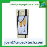 Rotwein-Champagne-Verpackungs-Papier-Seil-Griff-Beutel