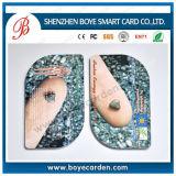 Подгонянная специальная замороженная карточка PVC