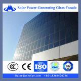 Glace solaire photovoltaïque pour la construction