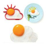 Sunnyside Form-hitzebeständiges Nahrungsmittelgrad-Silikon gebratene Ei-Form