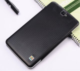 Tabuleta móvel do telefone do PC da tela 1024*600 3G da polegada HD do Android 7 mini com caso de couro