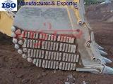 Pièces élevées bimétalliques d'usure d'excavatrice de blocs d'usure de chrome
