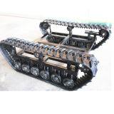 ゴムは追跡した小さい機械(調節可能なサイズ)のためのシャーシか下部構造を