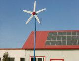 turbine de vent 5kw et système hybride de panneau solaire