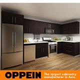 現代暗いメラミンアメリカのプロジェクトのモジュラー木製の食器棚(OP14-M01)