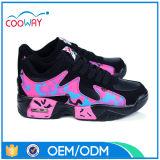 حمراء بنات حذاء رياضة/نمو [أثلتيك شو]