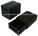 caixa componente da gaveta da caixa da caixa antiestática condutora da caixa do ESD da bandeja 3W-9805103
