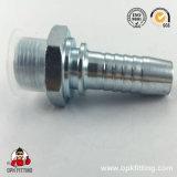 45&deg ; Femelle métrique 24&deg ; Ajustage de précision de pipe d'acier inoxydable du cône L.T. (20441)