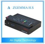 Afinador elevado do ósmio DVB-S um do linux do processador central do receptor alta tecnologia cheio da televisão satélite de Zgemma H.S das canaletas