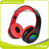 ステレオ音楽力の低音の方法Foldable携帯用Smartphone BluetoothのヘッドホーンをつけるLED