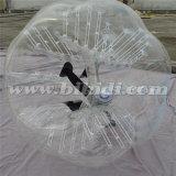 Futebol desobstruído ao ar livre da bolha, esfera da aldrava, futebol D5095 da bolha do PVC