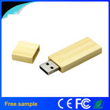 Eco-friendly Rectangle en bois biodégradable USB Memory Stick