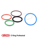 Joint circulaire adapté aux besoins du client en caoutchouc du rivage NBR de la couleur rouge 60