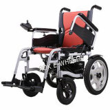 складная кресло-коляска силы 250W с электромагнитным тормозом (PW-004)