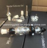 Tubo de cristal del kit del colector del néctar de la alta calidad para fumar
