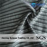 14mm 25% Seda 10% poli 65% Algodão Stripe Tecido para Vestido