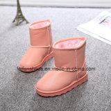 Новый снежок детей конструкции Boots ботинки детей ботинок зимы с верхушкой PU