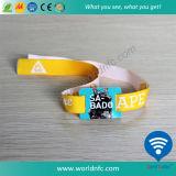 Gewebe-Armband Festival-ZugriffNtag213 RFID gesponnenes des Wristband-NFC