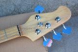 Musique de Hanhai/guitare basse électrique blanche avec 4 chaînes de caractères (piqûre Ray4)