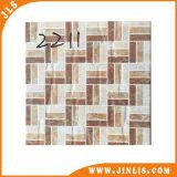 Azulejo de suelo de cerámica tamaño pequeño homogéneo de la pared de la manera decorativa