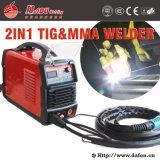 Schweißgerät Wsm-200 140A TIG Schweißer Wechselstrom-Gleichstrom-MMA