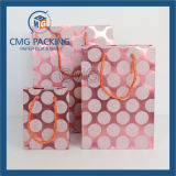 Sac à extrémité élevé d'emballage de papier de cadeau (DM-GPBB-053)