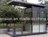 Casa de protector prefabricada del baja costo del surtidor/prefabricada móvil experta