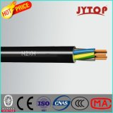 O cabo de cobre de N2xh, halogênio livra, flama - retardador, cabos Multi-Core isolados XLPE com condutor de cobre