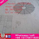 Air frais cylindrique de ventilateur d'aération de turbine de tunnel d'échappement industriel marin de ventilation forcée