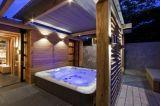 STATION THERMALE chaude de jacuzzi de tourbillon romantique de baignoire