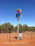 1kw de verticale Generator van de Wind kon zich 60m/S Sterke Wind veroorloven