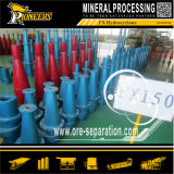 Hydrocyclone сепаратора промышленного оборудования штуфа классификатора циклончика минирование Dewatering