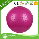Bola que despide de punta de bola del masaje de la yoga respetuosa del medio ambiente de Inflable los 75cm