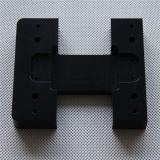 Части CNC Al 6063-T5 черные анодированные подвергая механической обработке