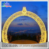 3D LED Outdoor Christmas Decoration Large Arch Lights